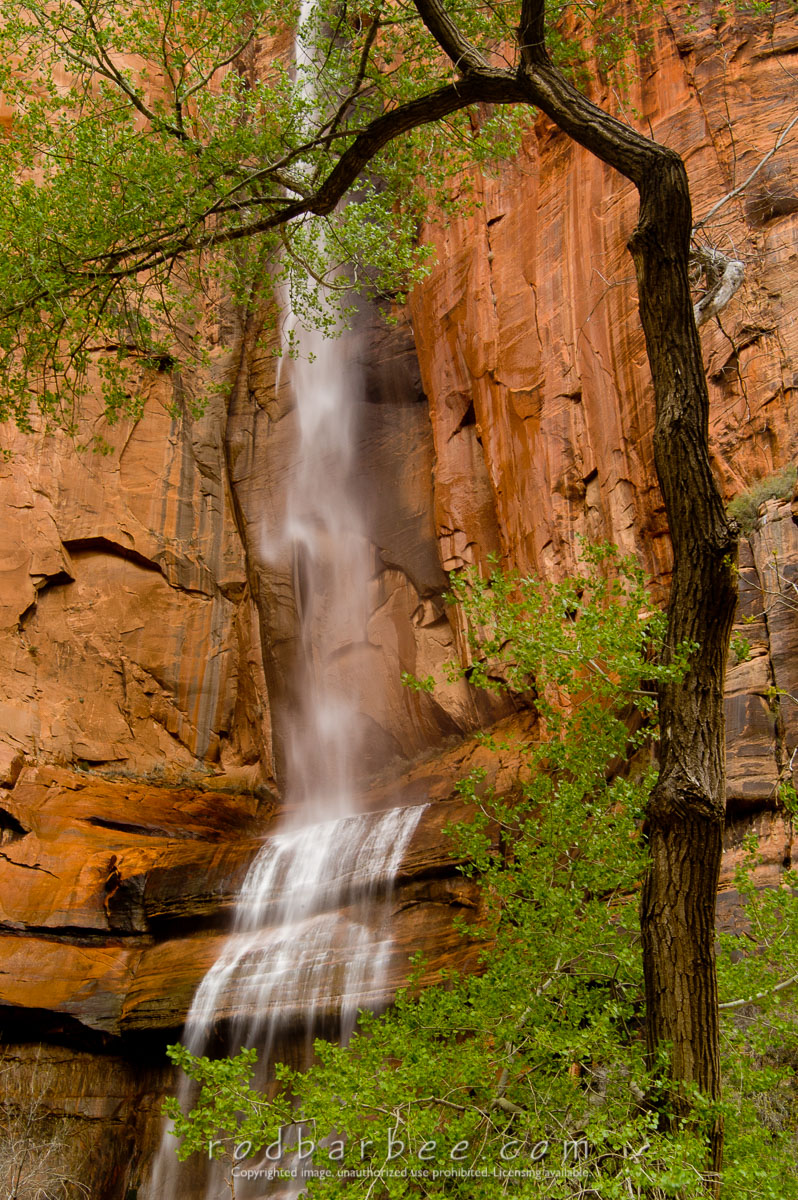 Barbee_050422_1_6488 |  Ephemeral waterfall in the Temple of Sinewava
