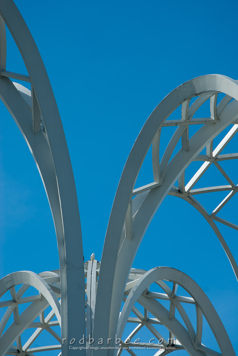 Barbee_060629_2_1379 |  Arches of the Seattle Science Center in Seattle Center.
