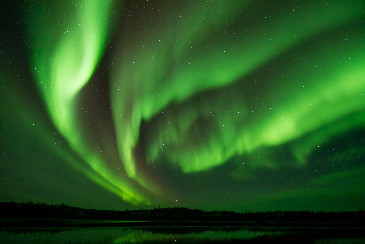 Barbee_140920_0245 |  Aurora from Prosperous Lake